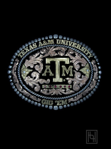 Texas A&M University Belt Buckle