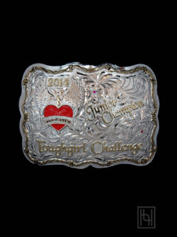 Hound Dog Belt Buckle