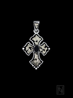 RimRock Budded Cross Pendant