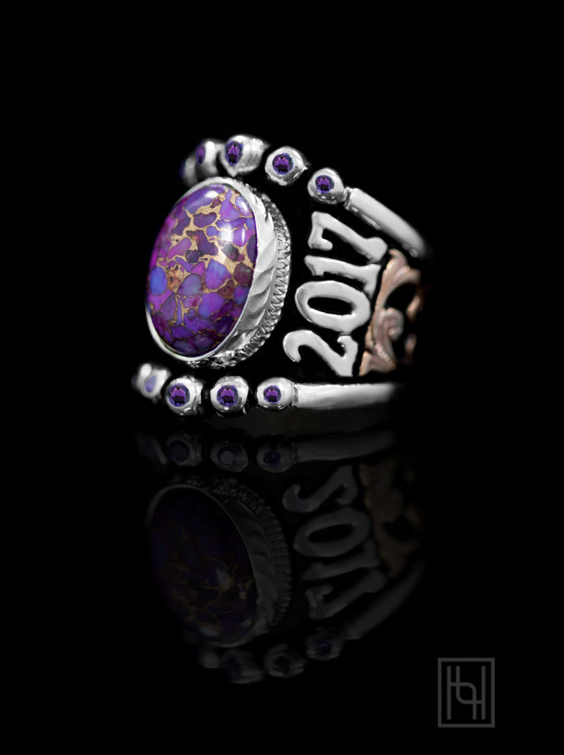Custom RimRock Statement & Accent Ring