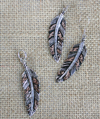 Feather Jewelry Collection Set